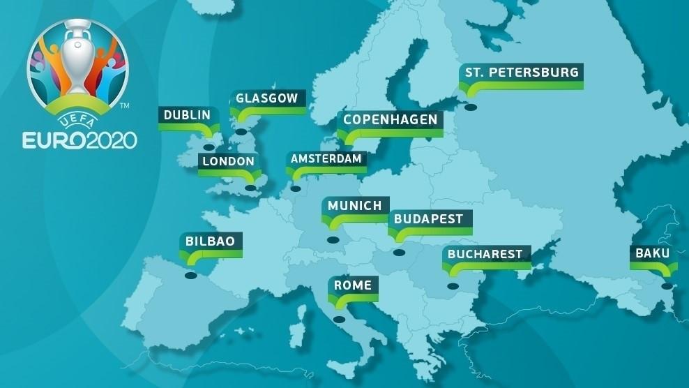 UEFA Euro 2020 Cities